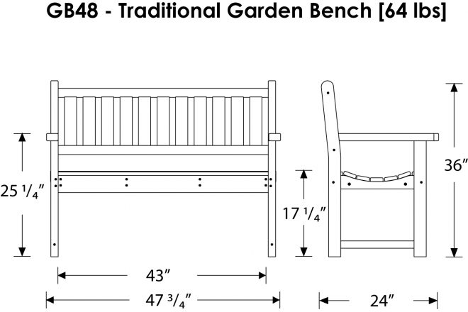 Download Plans Metal Garden Bench PDF plans king size platform bed ...